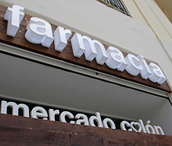 Farmacia mercado Colón